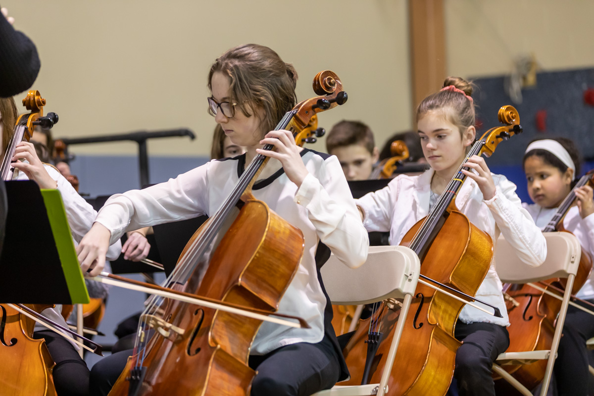Students perform at the Winter Concert
