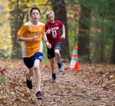 Belmont Day cross country shines