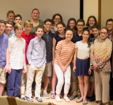 Students meet Supreme Court Justice Ruth Bader Ginsburg