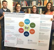 Faculty attend the 2017 Design Thinking Institute