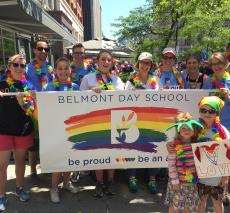Belmont Day marches in Boston Pride parade