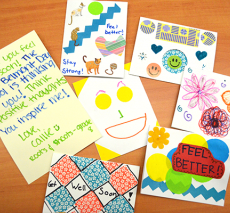 Get well cards for Bridget Brigade