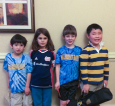 Lower school chess team