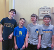 Middle school chess team