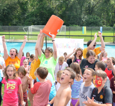 Campers take ALS Ice Bucket Challenge