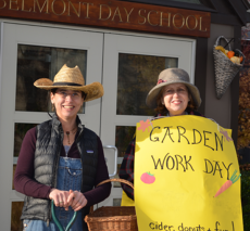 Promoting the garden workday