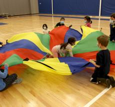Kindergarten Physical Education Class