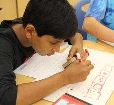 Students participate in Global Math Week