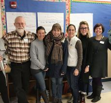 Area independent school teachers gather for the English Teachers' Collaborative