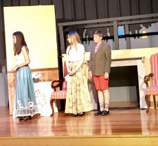 The cast of our 7/8 musical, Mary Poppins, had their tech rehearsal today. It was the first time they ran through the production with elements of costuming, light, sound, and scene shifts.