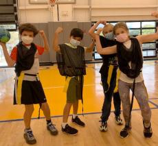 Young Students In Physical Education Class