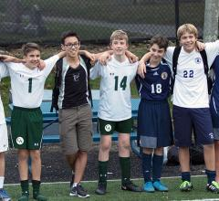Class of 2017 members square off in soccer at Concord Academy and BB&N