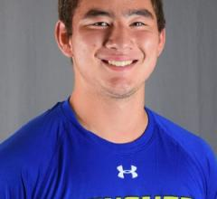 Daniel Kim '13 varsity tennis player at Goucher College
