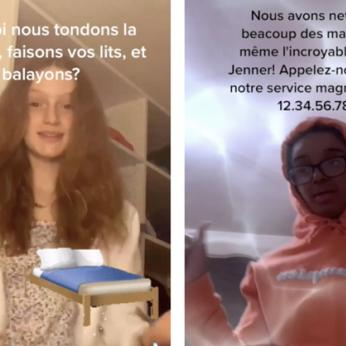 Middle School French Students